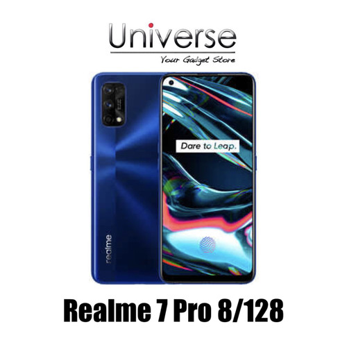 Foto Produk Realme 7 Pro 8/128 GB - Garansi Resmi Realme - Silver dari Universe Store