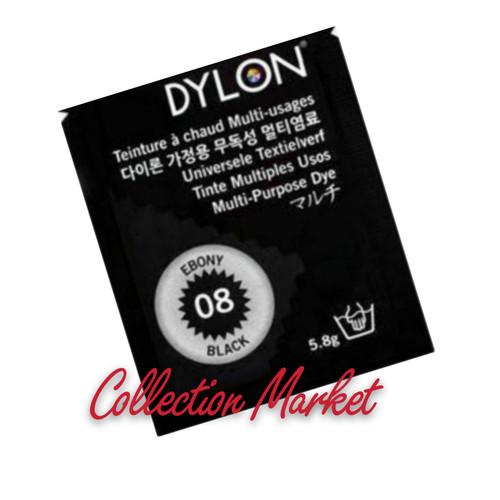 Foto Produk Dylon Pewarna Tekstil Pakaian Wantex no.08 Ebony Black dari Collection Market