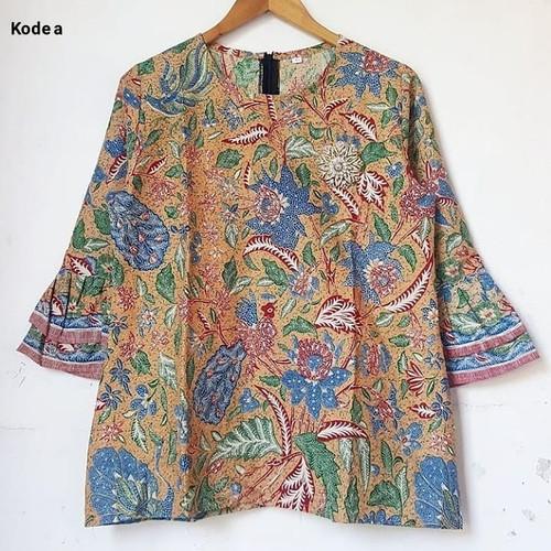 Foto Produk blouse casual woman batik top dari Batik Sri