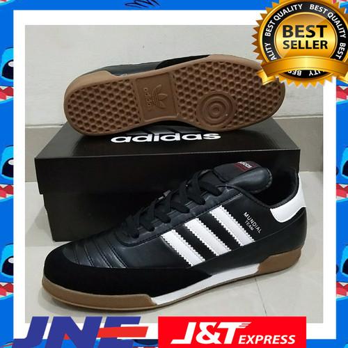 Foto Produk sepatu futsal adidas copa mundial team goal black white new murah dari windi_Sepatu Futsal