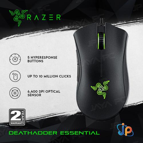 Foto Produk Mouse Gaming Razer DeathAdder Essential - Optical Mouse dari Jaya PC