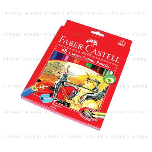 Foto Produk Pensil Warna Faber-Castell 48 Classic Colour Pencils (#115858) dari Pusat Grosir ATK 88