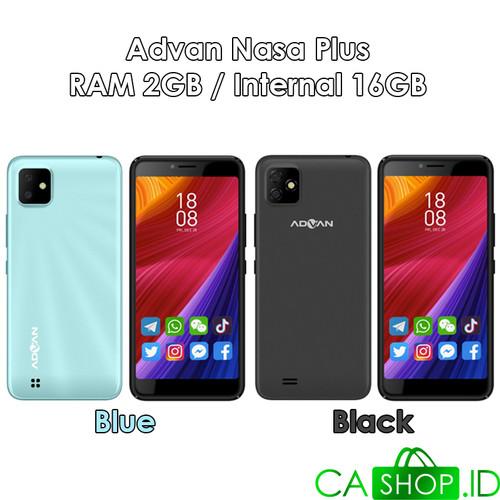 Foto Produk Advan Nasa Plus - 2GB 16GB (2/16) - New Original Garansi Resmi - Black dari CA Shop