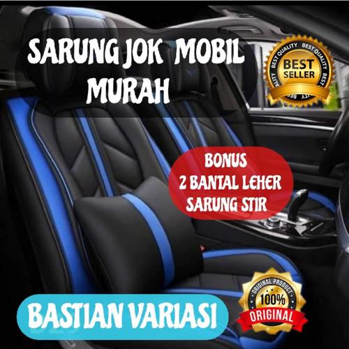 Foto Produk sarung jok mobil motif 3 seat avanza terios rush ertiga - Sporty Deluxe dari Bastian variasi.