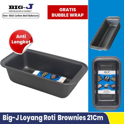 Foto Produk Loyang Roti Sedang Loaf Pan Loyang Brownies Anti Lengket 21Cm Big J dari Rayya Living