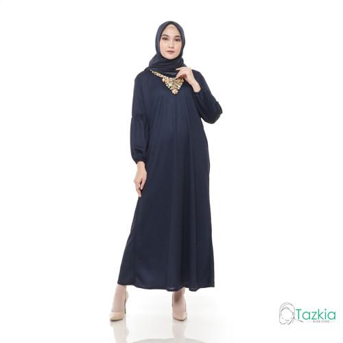 Foto Produk Dress Muslim Wanita | Gamis Turkiya | Original - Abu-abu dari Tazkia Hijab Store