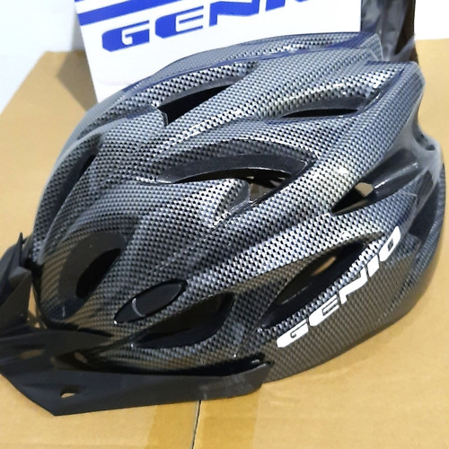 Foto Produk Helm Genio G17 ori - Hitam dari Said Colletion