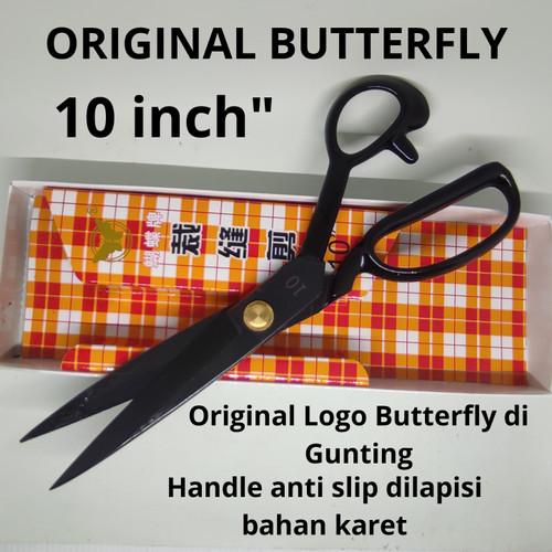 Foto Produk Gunting Kain Bahan Baja Besar Butterfly 10 inch Bagus Terbaik dari SOMIMOL