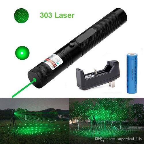 Foto Produk green laser pointer 303 / laser hijau variasi / laser kunci pengaman dari yaxiya666