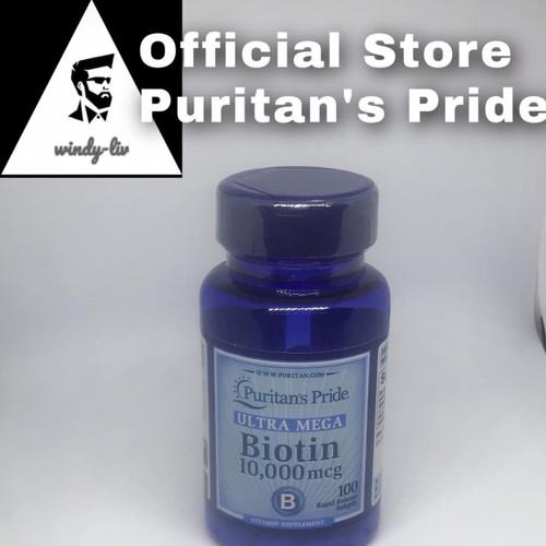 Foto Produk Puritan Pride Biotin 10000 mcg isi 100 softgel dari Windy-Liv