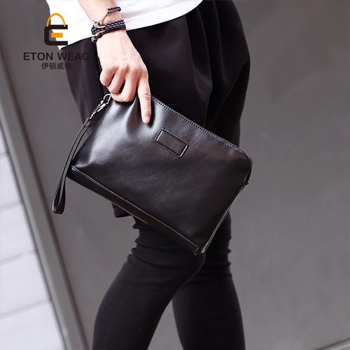 Foto Produk Tas Tangan Kulit Pria Clutch Kulit Pria Handbag Kulit Pria SHAWN dari Leather Concept