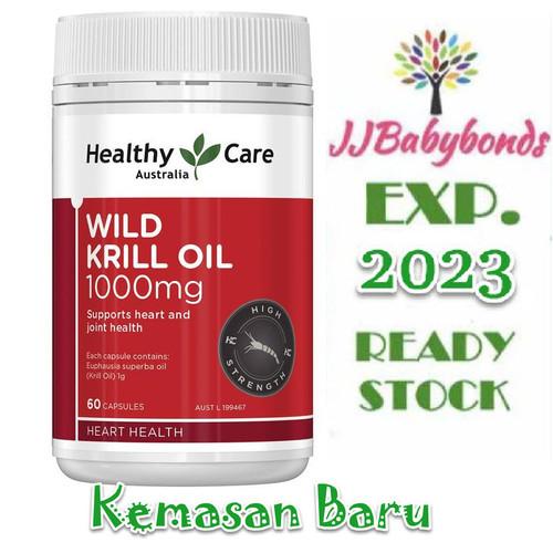 Foto Produk Healthy Care Wild Krill Oil 1000mg 60 kapsul dari jjbabybonds