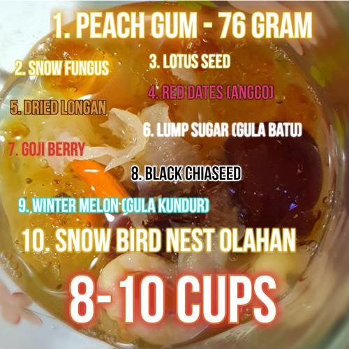 Foto Produk Paket Peach Gum Collagen Dessert untuk 8 porsi dari Funkies Lab