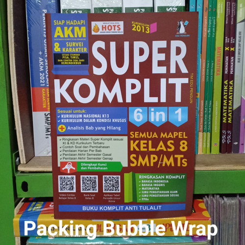 Foto Produk Siap Hadapi AKM Kelas 8 / 2 VIII Smp Super Komplit 6 In 1 Semua Mapel dari nasution. shop