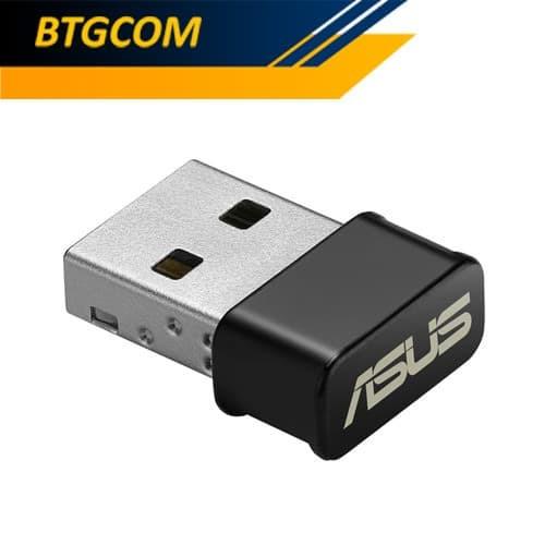Foto Produk Asus USB-AC53 Nano AC1200 Dual Band WiFi Adapter USBAC53 dari BTGCOM
