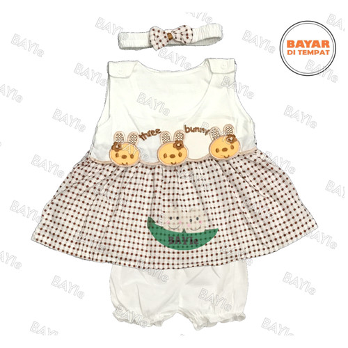 Foto Produk Setelan Baju bayi Perempuan MOM'S GIFT 100% Katun SNI usia 0-6 bulan - RABBIT dari Galaxy Gemilang