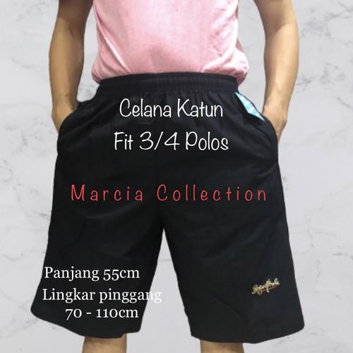 Foto Produk Celana Pendek Katun Merk FIT 3/4 POLOS & MOTIF ( KARET ) dari Marcia collection