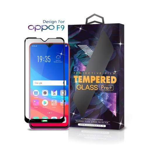 Foto Produk Tempered Glass Oppo F9 Full Cover Black - Premium Glass Pro dari Glass Pro Indonesia