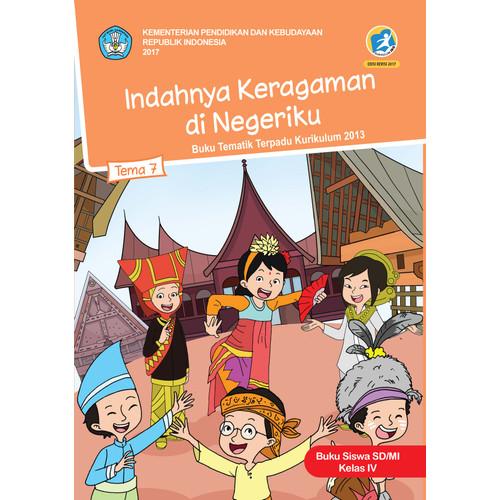 Foto Produk Buku siswa kelas 4 SD-MI Tema 7 Indahnya keragaman dinegeriku dari BUKUREFERENSITKdanSD