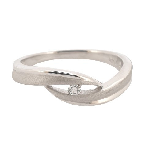 Foto Produk Ring / Cincin Emas Berlian Siera - SR 0134W dari Goldmart Official Shop
