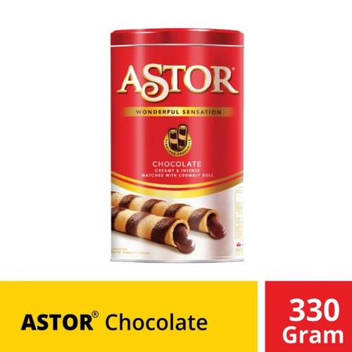 Foto Produk Astor Kaleng Chocolate Coklat 330 gr 330gr dari Logan Market