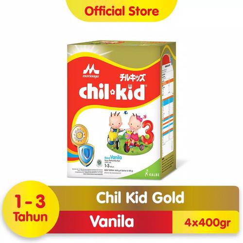 Foto Produk Chilkid 3 VANILLA 1600 GOLD - Chil Kid Reguler VANILA Morinaga REGULAR - PackingEkonomis dari Shipment