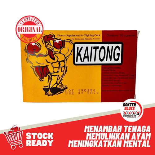 Foto Produk Kaitong Suplemen Penambah Stamina Ayam dari DokterBlues