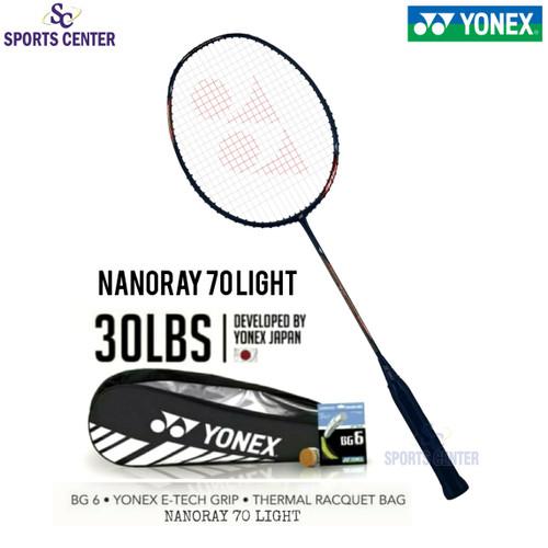 Foto Produk Full Set Raket Badminton Yonex Nanoray 68 Light 5U G5 dari Sports Center