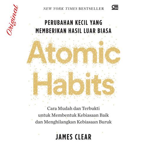 Foto Produk Buku Atomic Habits Perubahan Kecil Yang Memberikan Hasil Luar Biasa dari Showroom Books