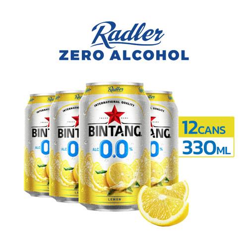 Foto Produk Radler Zero Lemon 0% Soft Drink 330ml Can Multipack 12 dari Drink Corner Bekasi