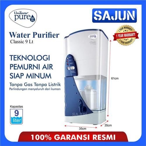 Foto Produk UNILEVER PURE IT Water Purifier Classic 9 Lt Mesin Pemurni air PUREIT dari Sajun Electronic