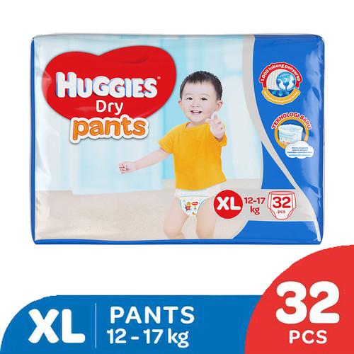 Foto Produk Huggies Dry Pants Popok Celana XL 32 dari KOTEX HUGGIES INDONESIA