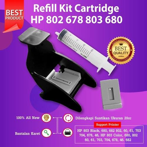 Foto Produk Refill Kit HP 678 802 803 703 704 Penyodot Tinta Cartridge 680 682 46 dari FixPrint Indonesia
