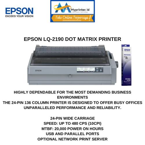 Foto Produk Epson LQ 2190 Dotmatrix dari myprinter.id