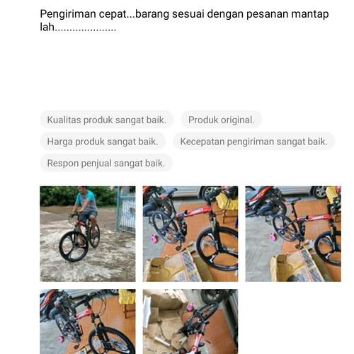 Foto Produk ❤️READY STOCK sepeda lipat gunung amin Mountain Bike❤️ - Biru, speed 30 dari Koreanholicshop