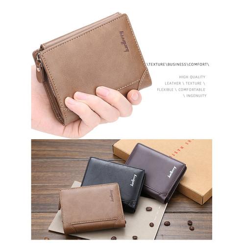 Foto Produk BA25 Dompet Pendek Pria Wanita Baellerry Stylish Exclusive Wallet - brown dari Dneo Store