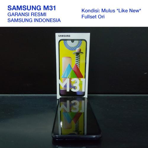 Foto Produk MULUS FULLSET Samsung Galaxy M31 (6/128GB) - Biru - Biru dari Duniakomik