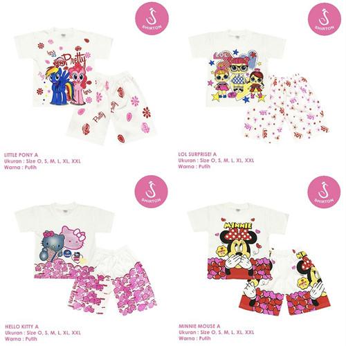 Foto Produk Katalog Baju Setelan Anak Perempuan Size L Shirton GROSIR - PILIH GAMBAR, Size L dari shirton
