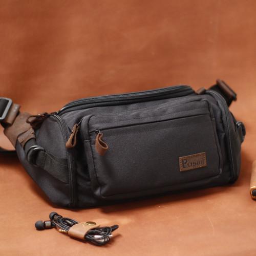 Foto Produk Waistbag Pusiill/Waistbag kulit Asli+Cordura/Tas selempang Pria&wanita dari Ninety_Storeid