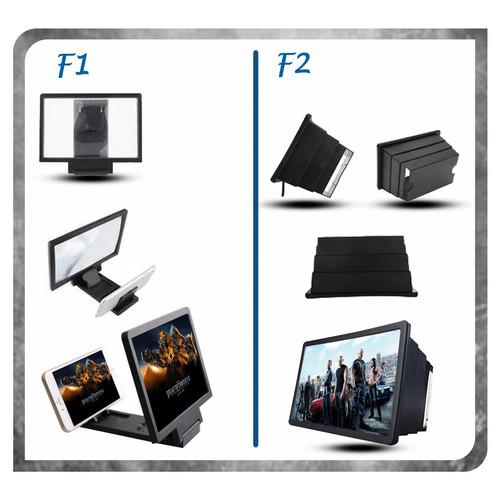 Foto Produk KACA PEMBESAR LAYAR 3D F12 / ENLARGED SCREEN LAYAR PEMBESAR HP LCD - Model F1 dari K2 Official Store