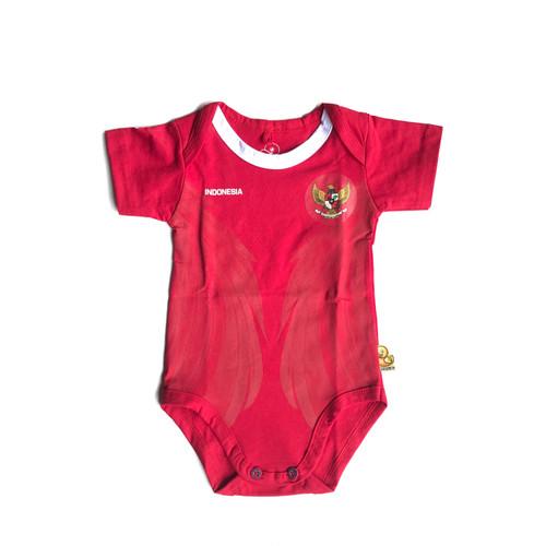 Foto Produk Baju Pakaian Bayi Bola Anak Couple Laki Laki Perempuan Jersey Timnas dari jerseybolabayicom