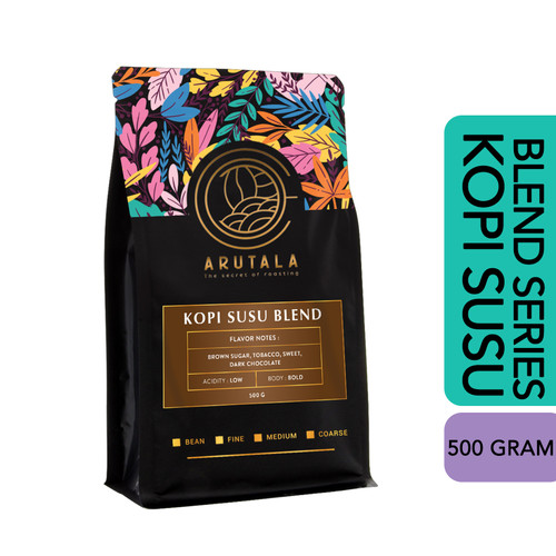 Foto Produk ARUTALA Kopi Susu Blend - For Kekinian Coffee - 500 Gram - Biji dari Arutala Online Co.