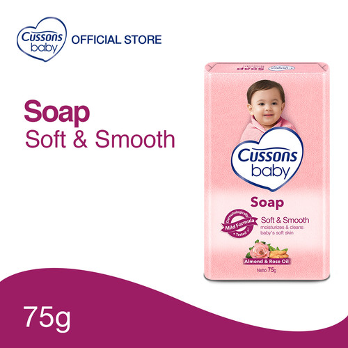 Foto Produk Cussons Baby Soap Soft & Smooth 75gr dari Cussons Official Store