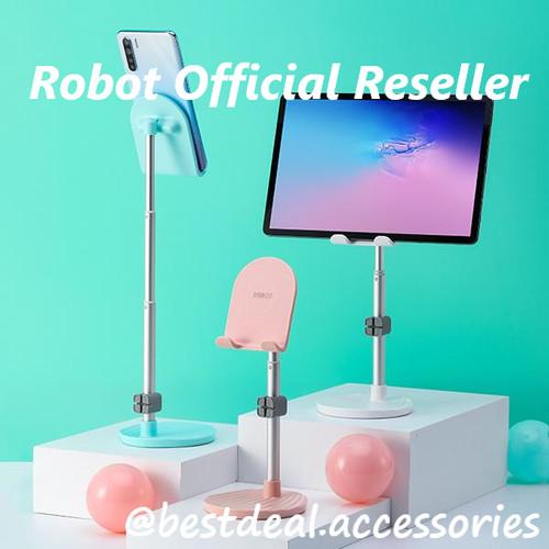 Foto Produk Robot RT-US08 Phone Tablet Holder Stand Liftable (New RT-US04 RT-US06) - Putih dari bestdeal official