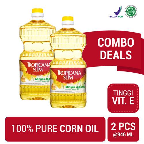 Foto Produk Twin Pack: Tropicana Slim Minyak Jagung 946ml (Botol) dari NutriMart