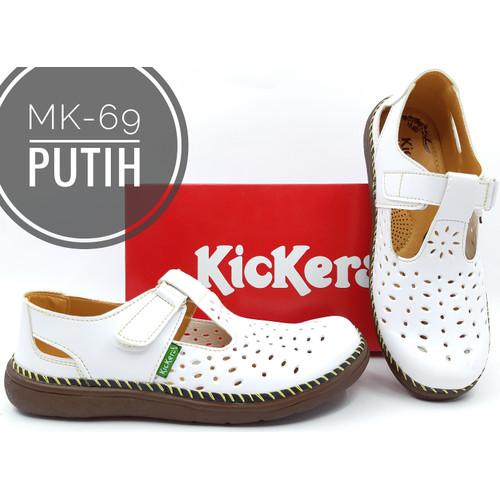Foto Produk Fashion Wanita Sepatu Merk Kickers Kode MK-69 - Putih, 36 dari Mas Aan Shop