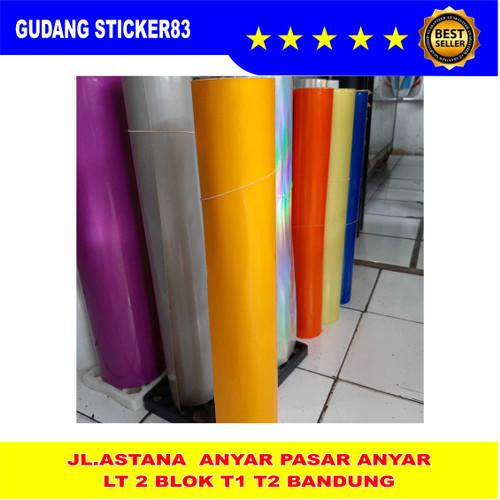 Foto Produk Sticker Scotlite Reflectif (bahan cutting) - Kuning dari GUDANG STICKER 83