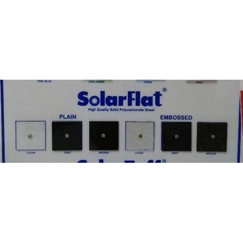 Foto Produk atap polycarbonate solarflat 1.2mm bronze dan grey - Clear dari Toko vasa