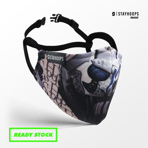 Foto Produk Stayhoops - Masker Kain - Fullprint 2 Layer - AD JOINT dari Stayhoops official