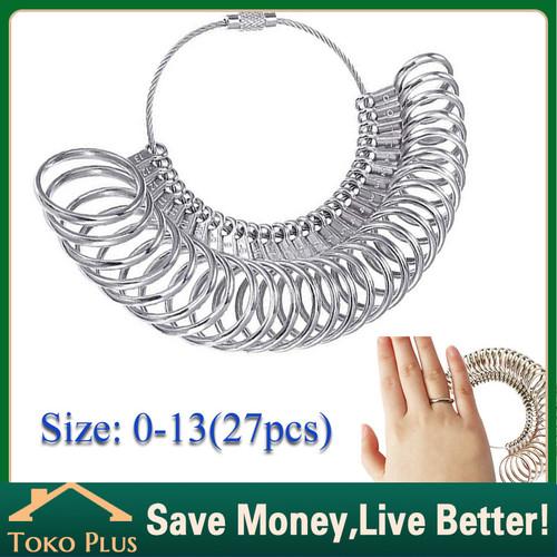 Foto Produk Alat Ukur Bahan Stainless / Ring Ukuran Jari Cincin Merek TSK dari Toko Plus ID